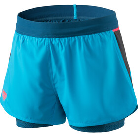 Dynafit Alpine Pro 2in1 Shorts Women methyl blue